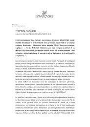Télécharger l'article - Swarovski