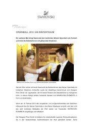 OPERNBALL 2012: EIN WINTERTRAUM - Swarovski