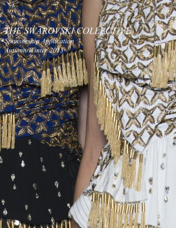 THE SWAROVSKI COLLECTIVE Autumn/Winter 2013