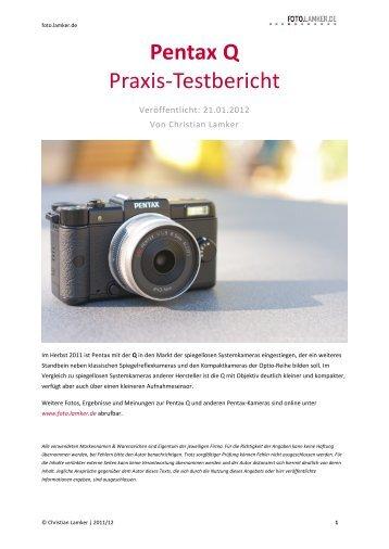 Pentax Q Praxis-Testbericht - foto.lamker.de - Christian Lamker