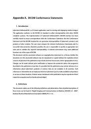 OnDemand3D Conformance Statement - Soredex
