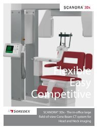 SCANORA® 3Dx / PDF Brochure - Soredex