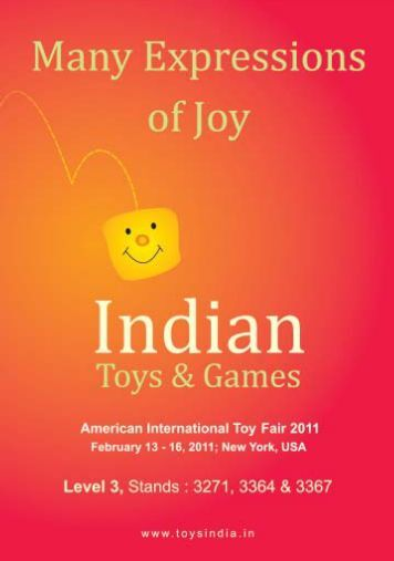 America Toy Fair catalogue.pmd - Sports Goods Export Promotion ...