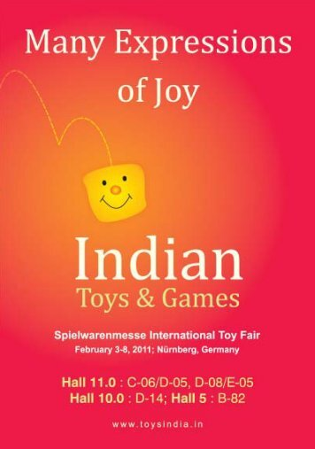 At Spielwarenmesse International Toy Fair'2011 INDIA