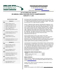 28 annual girls soccer state championships - SportsHigh.com