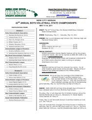 42 annual boys volleyball state championships - SportsHigh.com