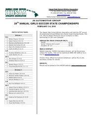 29 annual girls soccer state championships - SportsHigh.com