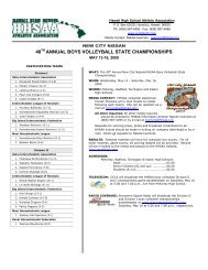 40 annual boys volleyball state championships - SportsHigh.com