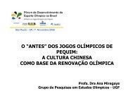 """o """"antes"""" dos jogos olímpicos de pequim: a cultura ... - Sports In Brazil"""