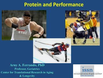 Protein and Performance - International Society Of Sports Nutrition