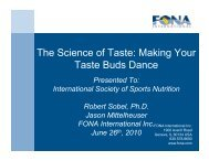 The Science of Taste: Making Your Taste Buds Dance - International ...