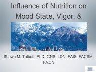 Stress - International Society Of Sports Nutrition