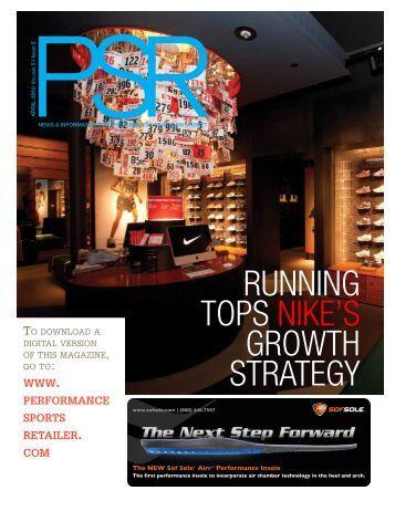 running tops nike's growth strategy - SportsOneSource.com