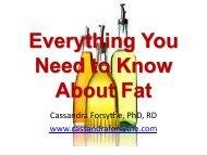 Fat - International Society Of Sports Nutrition