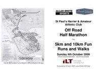 Off Road Half Marathon 5km and 10km Fun Runs ... - Sport Southland