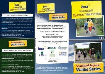 Walks Series - Sport Southland