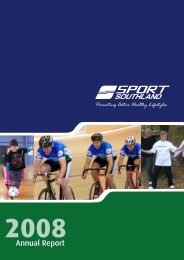 Annual Report 2008 - Sport Southland