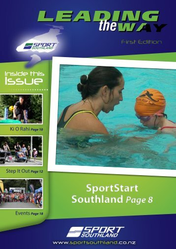 First Edition - April 2012 - Sport Southland