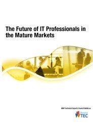 The Future of IT Professionals in the Mature Markets - Agoria