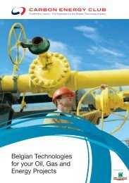 Belgian Technologies for your Oil, Gas and Energy Projects - Agoria