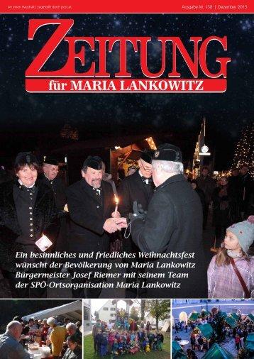 Ausgabe 138 - Besinnliches Weihnachtsfest
