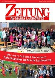 Ausgabe 133 - Tafelklassler in Maria Lankowitz