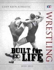 Cliff Keen-wrestling.pdf - USA Sports Connection