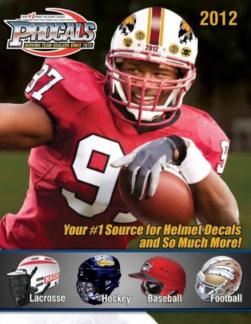 hdhd high-definition helmet decals - USA Sports Connection