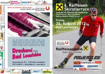 Ausschreibung Ski-Roller im PDF - Computerauswertung.at