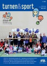 Artikel «turnen&sport;» 3/13 (22.3.2013) - Sport Union Schweiz