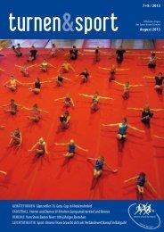 turnen&sport 7+8/13 - Sport Union Schweiz