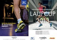 Laufcup 2013 - engelhorn sports - sport up your life