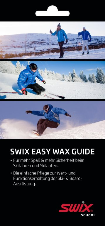 SWIX EASY WAX GUIDE - engelhorn sports - sport up your life
