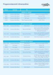 Programmübersicht Ultramarathon - engelhorn sports - sport up your ...