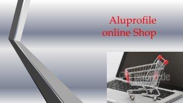 Aluprofile online Shop