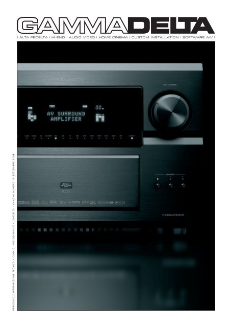 hi-end | audio video | home cinema - Gammadelta.it