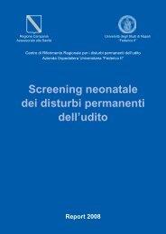 Screening neonatale dei disturbi permanenti dell'udito - Il sito di ...