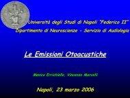 Vertigine Non Parossistica Non Ricorrente - Il sito di Audiologia dell ...