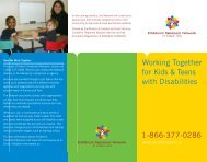 Working Together for Kids & Teens with Disabilities - Children's ...