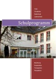 Schulprogramm - Freie Christliche Schule Lüdenscheid