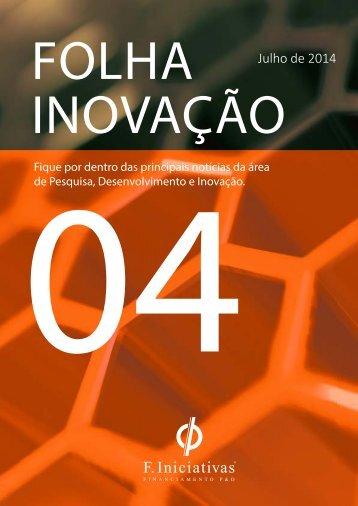 Folha Inovação 4ª Edição - F. Iniciativas Brasil