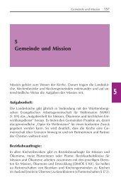 Ökumenische Bewegung - Evangelische Landeskirche in ...