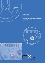 Flyer Kommunalwasserzähler mechanisch.indd - mx systems ag