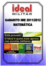 Matemática - Grupo Ideal