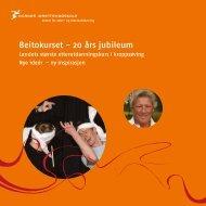 Beitokurset - 20 års jubileum - Norges idrettshøgskole