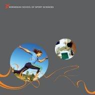 Norwegian School of Sport Sciences - Norges idrettshøgskole