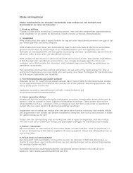 Etiske retningslinjer knyttet til innkjøp - Norges idrettshøgskole
