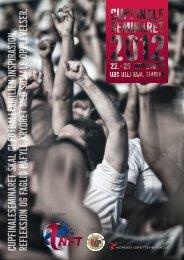 Invitasjon Cupfinaleseminaret 2012 - Norges idrettshøgskole