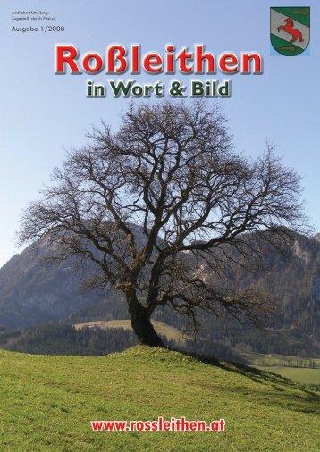 in Wort & Bild - Gemeinde Roßleithen