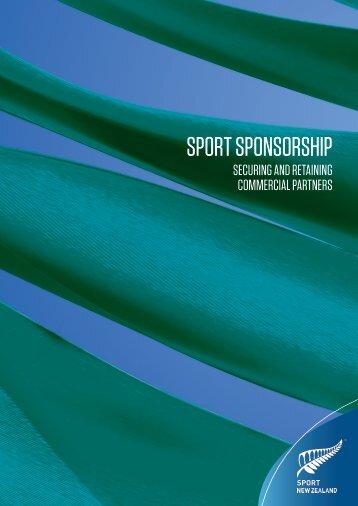 SPORT SPONSORSHIP - New Zealand Coach Magazine